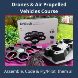 BDS 115 Drone & Air Propelled Vehicles Course